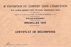 International fair - Bruxelles 1935g.